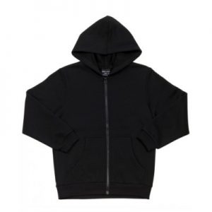 Zipped Hoodie Front